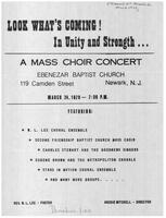 A Mass Choir Concert