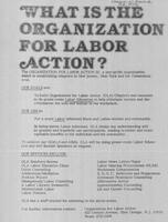 What is the Organization for Labor Action?