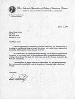 Letters of Recommendation for Municipal Court Judge Appointment